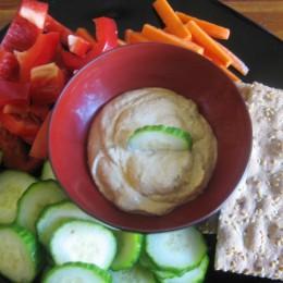 Hummus ist ein leckerer Rohkost-Dip