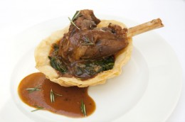 Palastküche: Lammkeule Begendi aus dem Restaurant Asitane