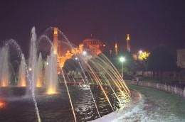 Die Hagia Sophia ist eines der Wahrzeichen Istanbuls