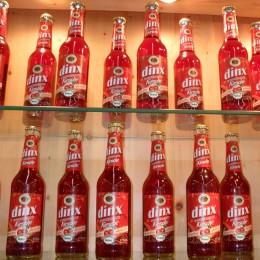 Dinx - alkoholfreies Dinkelbier mit Kirschsaft