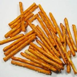 Salzstangen sind die leichtere Alternative zu Chips