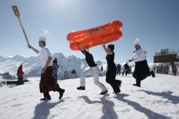 Am 13. und 14. April wird in Ischgl die dritte Ski-WM der Gastronomie ausgetragen