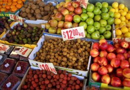 Viele Europäer sind allergisch gegen frisches Obst