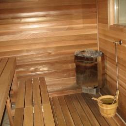 Ein Saunagang entspannt und fördert die Durchblutung