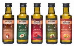 Kalt gepresst und schonend hergestellt: Die Öle von Naturata