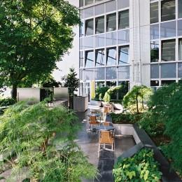 Der Garten im 7. Stockwerk
