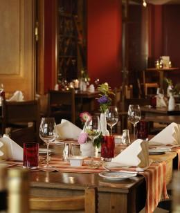 Im Restaurant Bomke wird eine exquisite Küche angeboten