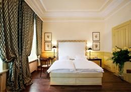 Die Zimmer im Hotel Abtei versprechen Erholung von der Großstadt Hamburg