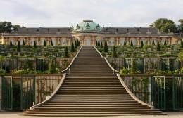 Schloss Sanssouci gehört zum UNESCO-Weltkulturerbe