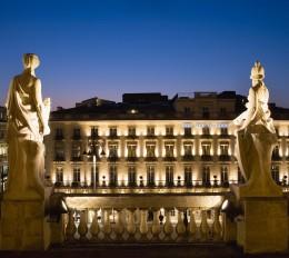 The Regent Grand Hotel Bordeaux passt gut ins Stadtbild