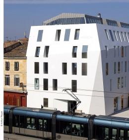 Das Designhotel Seeko'o sieht aus wie ein Eisberg