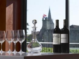 Wein ist in Bordeaux allgegenwärtig