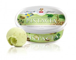 Svensk-Glass-Pistacia Schwedisches Eis