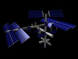 Die internationale Raumstation ISS soll bald zur Gurkenfarm mutieren