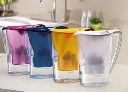 BWT Tischwasserfilter in verschiedenen Farben
