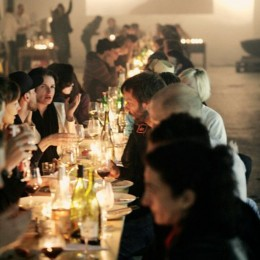 Bei den Kitchen Guerillas ist geselliges Beisammensein fast so wichtig wie das Essen