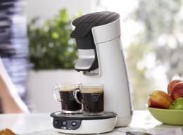 Kaffeemaschine aus recycelten Materialien