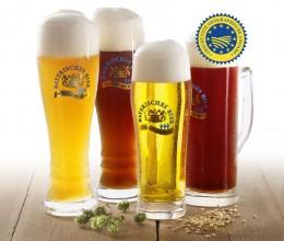Bayerische Biervielfalt: 4 von 4.000 Spezialitäten.