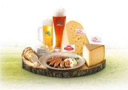 Original bayerisch: Spezialitäten für die Brotzeit.
