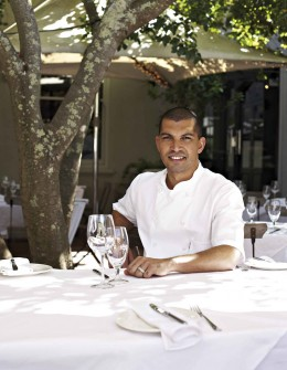 Reuben Riffel in seinem Restaurant One & Only in Kapstadt