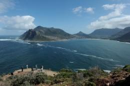 Vom Chapman's Peak aus haben Besucher einen beeindruckenden Ausblick auf Hout Bay