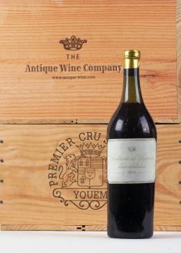 Alt und teuer: die Flasche Chateau d'Yquem
