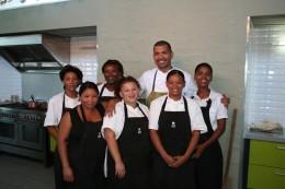 Reuben Riffel will mit seinen Kochkünsten junge Menschen inspirieren