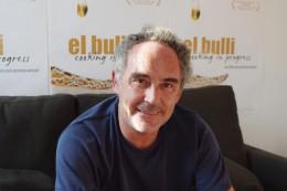 Ferran Adrià beim Interviewtermin in Berlin