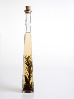 aromatisierter Essig mit Kräutern