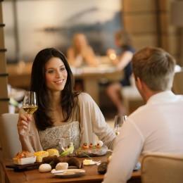 Fine Dining im Gourmetrestaurant Überfahrt