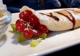 Palatschinken oder Palačinki sind eine typische Süßspeise der böhmischen Küche