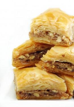 sehr süß: Baklava