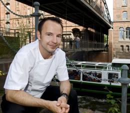 Thomas Sampl, Chefkoch des VLET, arbeitet eng mit Produzenten aus dem Hamburger Umland zusammen