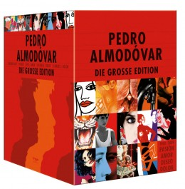 Pedro Almodóvars Bestseller in einer Box