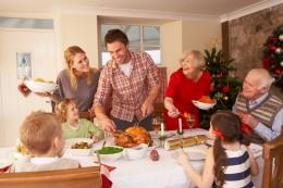 Weihnachten Essen Familie