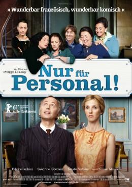 """Filmplakat """"Nur für Personal"""""""