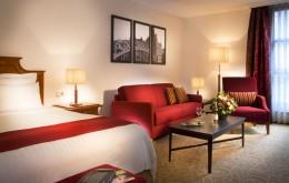 Elegante Atmosphäre im Marriott Hotel