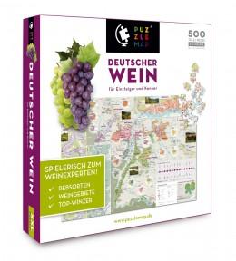 Puzzelnd Deutschen Wein entdecken