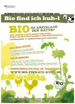 """Schülerwettbewerb """"Bio find ich kuh-l"""""""