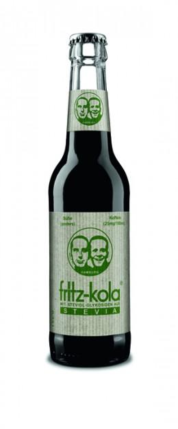 fritz-kola mit Steviol-Glykosiden aus Stevia