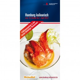 Hamburg Kulinarisch Broschüre