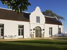 Das Weingut Allée Bleue in Südafrika