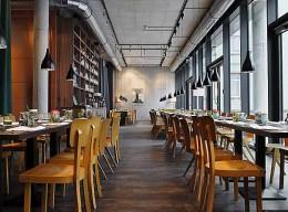 Der Innenraum des Restaurants Margarete
