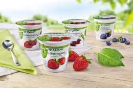 Fruchtjoghurts ohne Gentechnik von Bauer
