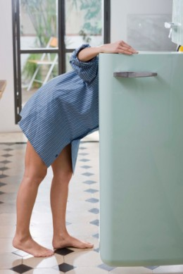 Der Blick in den Kühlschrank - zwischen Vernunft und Versuchung