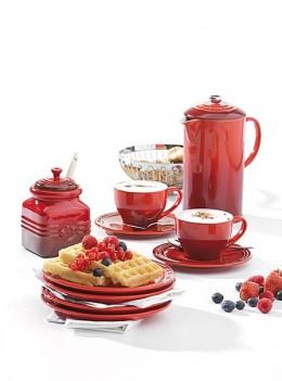 Farbe auf den Frühstückstisch: Le Creuset