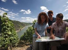 Wandern und Wein genießen