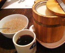 Taho wird aus drei Zutaten zubereitet.