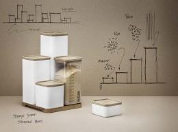 Vorratsdosensystem Storage von RIGTIG by Stelton