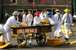Auf dem Käsemarkt in Alkmaar